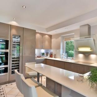 Küchenfoto von moderner Küche für Imagebroschüre