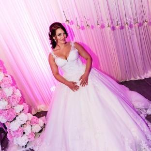 Braut im Ballsaal