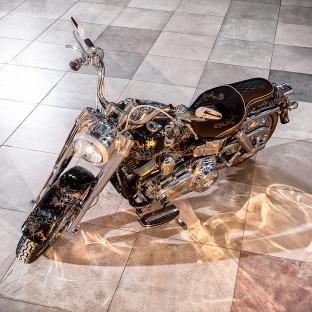Harley-Davidson Hamburg Nord - Harald Glööckler-Bike